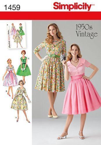 Sewing Patterns Mccalls Vintage And Vogue Ebay