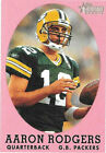 Aaron Rodgers Rookie Football Cards