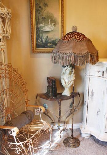 Antique Lamp Shade Fringe Ebay