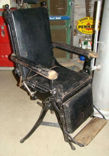 Antique Dental Chair Ebay