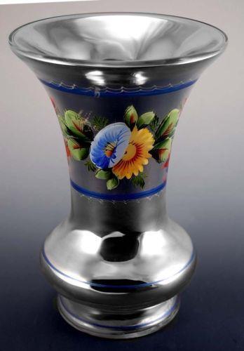 antique mercury glass vase