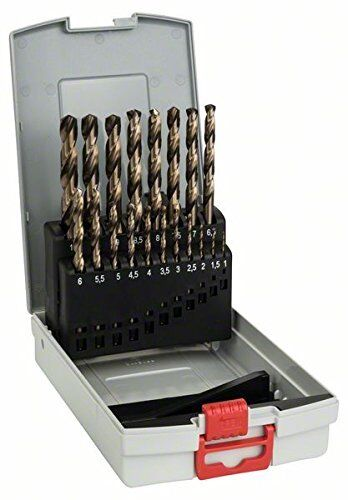 Bosch Pro 19tlg Metallbohrer-Set HSS-Cobalt ProBox Top Qualitat Werkzeug Zubehor