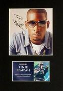 Tinie Tempah Signed