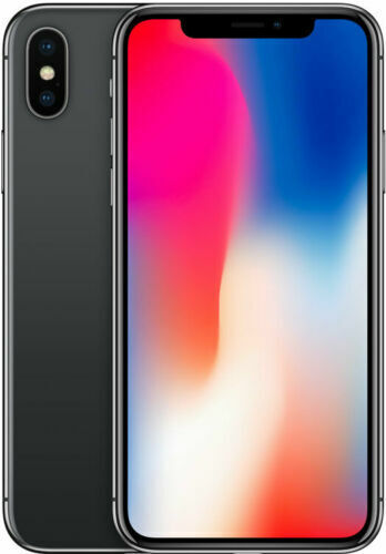 Apple iPhone X – 256GB – Space Gray (Unlocked) (GSM) Mobile Smartphone Cell Phones & Accessories