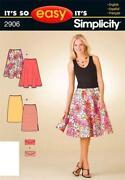 Simplicity Skirt Pattern