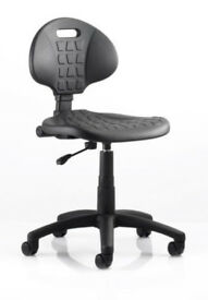 DYNAMIC MALAGA DRAUGHTSMAN LOW CHAIR | WIPE CLEAN OPERATOR SEATING | UK LEADING