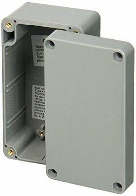 Bud Industries - Pn-1322-dg - Enclosure Junction Box Plastic Gray