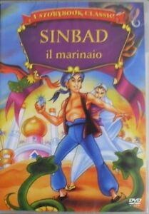 SINBAD-il-marinaio-DVD-Edizione-Storybook-Nuovo