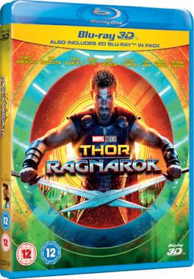 Thor Ragnarok 3D  3D   2D Blu Ray Region Free  Hemsworth  Marvel Super Heroes