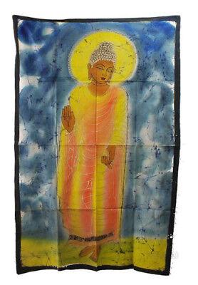 Batik of Lord Buddha 115x 74cm Hanging Wall 05