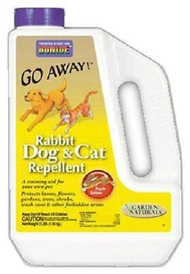 Bonide Go Away, 3 LB, Rabbit, Dog & Cat Repellent Granules