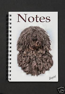 Hungarian Puli Notebook / Notepad By Starprint
