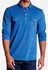 Tommy Bahama Long Sleeve Polo, Rugby Casual Shirts for Men