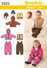 Infant Coat/Jacket Sewing Patterns