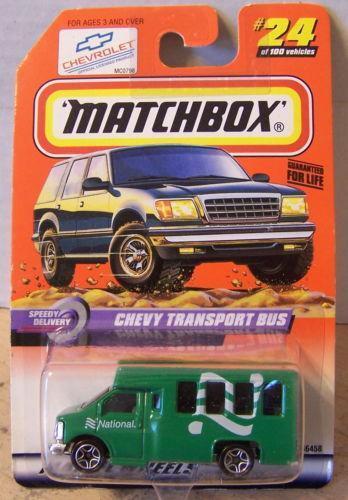 Matchbox Chevy Transport Bus Ebay