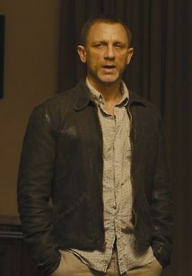 James Bond Daniel Craig Skyfall Real Leather Jacket
