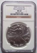 2000 Millennium Silver Eagle