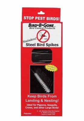 Bird-B-Gone MM2001-5/6 Bird Spikes, FREE SHIPPING