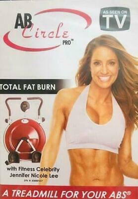 AB Circle Pro: Total Fat Burn with Jennifer Nicole Lee DVD ONLY BRAND NEW SEALED, usado segunda mano  Embacar hacia Mexico