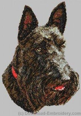 Embroidered Sweatshirt - Scottish Terrier DLE2516 Sizes S - XXL
