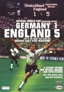 Germany 1, England 5 DVD (2001) England (Football Team)
