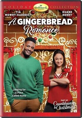A GINGERBREAD ROMANCE New Sealed DVD Hallmark Channel Holiday Collection