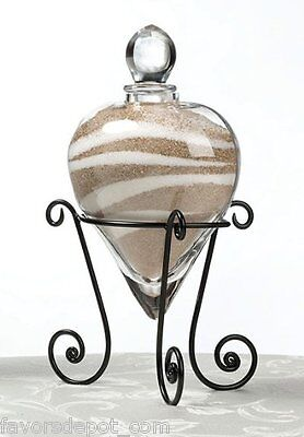Heart Unity Sand Holder Wedding Unity Ceremony - Sand Ceremony Vases