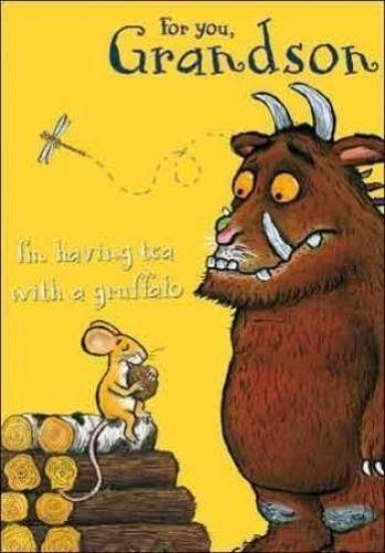 Gruffalo Birthday Card Ebay