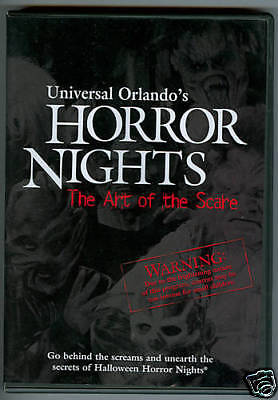 Universal Halloween Horror Nights -Art of the Scare DVD