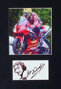 Joey Dunlop Signed