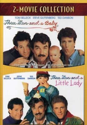 Купить Three Men and a Baby / Three Men and a Little Lady [New DVD]