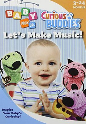 Baby Nick Jr (NEW - Baby Nick Jr.: Curious Buddies, Lets Make)