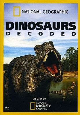 National Geographic  Dinosaurs Decoded Dvd Region 1
