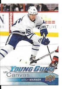 2016-17 Mitch Marner Young Gun Canvas rookie hockey card Kingston Kingston Area image 1