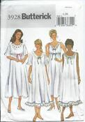 Womens Nightgown Pattern