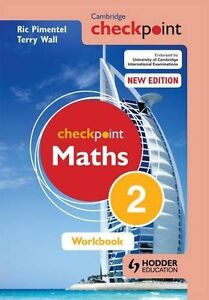 Cambridge Checkpoint Maths Workbook 2, Pimentel, Ric, Wall, Terry, New condition
