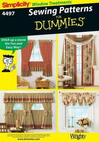 Curtain Sewing Pattern | eBay