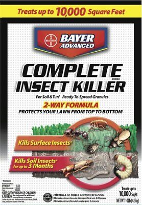 Bayer Advanced700288 Complete Insect Killer for Soil and Turf Granules, 10-Pound