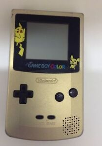 Silver Gameboy color Pokemon edition