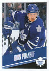 Panini Dion Phaneuf Hockey Trading Cards NHL