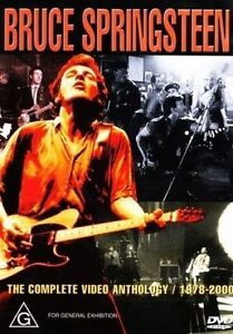 BRUCE SPRINGSTEEN The Complete Video Anthology 2DVD *PAL* R4 NEW 1978-2000