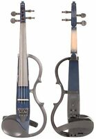 Yamaha Silent Electric Violin- Dark Blue (SV130)