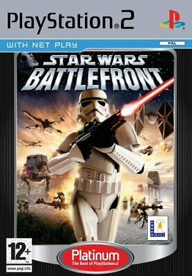 PS2 Star Wars Battlefront Platinum - Playstation2