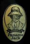 Mens Vintage Panama Hat