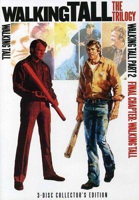 NEW Walking Tall The Trilogy DVD BOX Set part 1 1973 2 1975 3 FINAL CHAPTER 1977