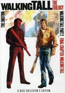 NEW Walking Tall The Trilogy DVD BOX Set part 1 1973 2 1975 3 FINAL CHAPTER 1977