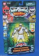 Power Rangers Wild Force White