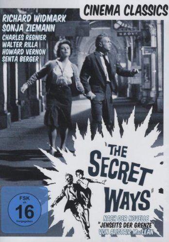 DVD * THE SECRET WAYS - Richard Widmark  # NEU OVP ~