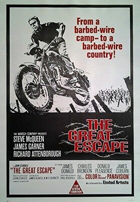 Gesprengte Ketten - Great Escape (1962) | US Import Filmplakat 68x98 cm