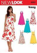 Halter Neck Dress Pattern